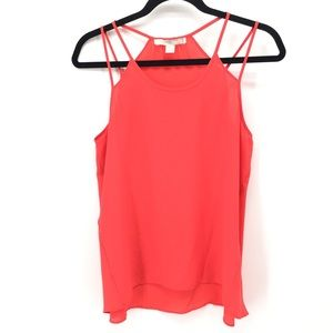 Forever 21 Bright Red Tank Top size M